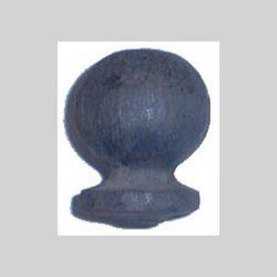 smedejerns top post der ofte bruges til smedejernshegn på søjler eller post. kan varmgalvaniseres efter på svejsning.