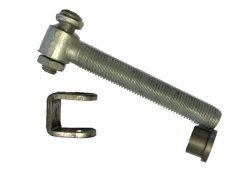 Locinox hængsel M20 PS3-30L varmgalvaniserede bolt og de øvrige dele ubehandlet til at svejse på - et kvalitets hængsel fra Locinox.